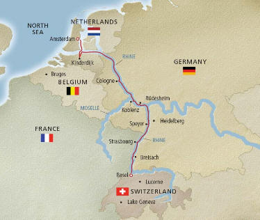 2020 Quilters European Christmas Market River Cruise | Itinerary